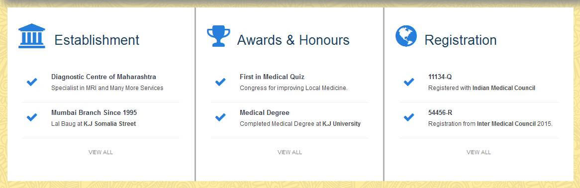 Raviraj Physiotherapy and Diagnostic Centre & Pathology Laboratory Awards